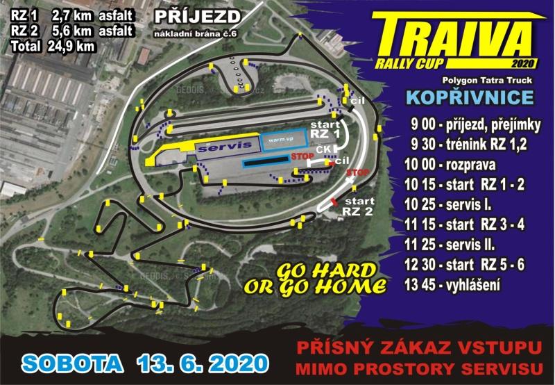 Mapa trati